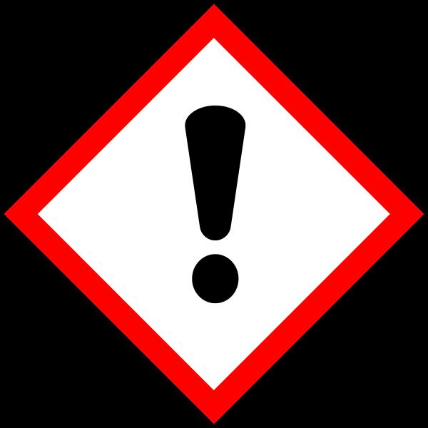 GHS07 - dráždivé látky
